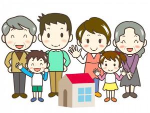 家族3世代、家