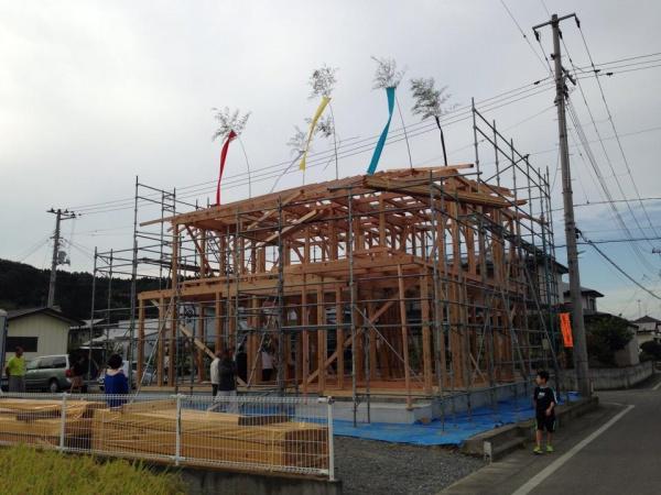 構造材 建前