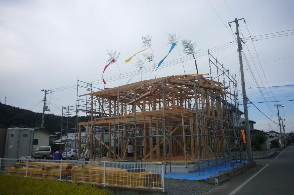 新築 建前 外観